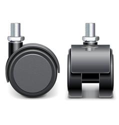Furniture Wheel vector