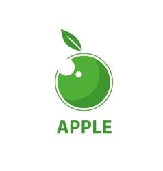 logo apple vector image