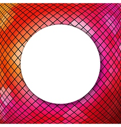 Mosaic background with sphere vector
