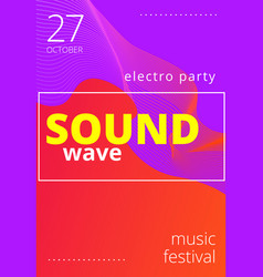 music beat abstract equalizer sound wave vector image