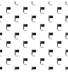 offside pattern seamless vector image