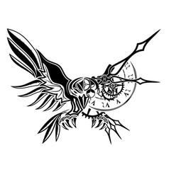 Raven 0010 vector