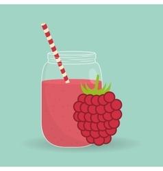 Smoothie icon design vector image