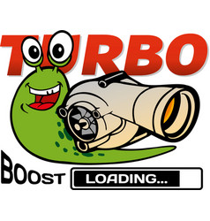Turbo snail vector