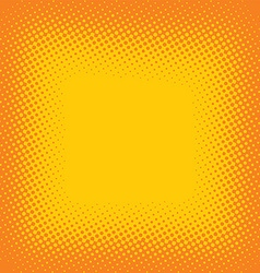 Halftone color cartoon retro background theme vector