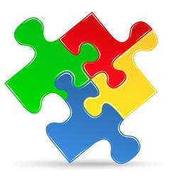 Puzzle Piece Icon vector image
