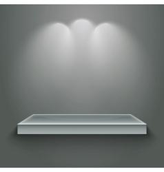 3d gallery vector image