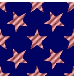 Abstract 3d seamless background with stars vector