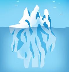 Arctic ice vector