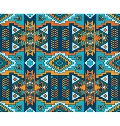 aztec style seamless background vector image