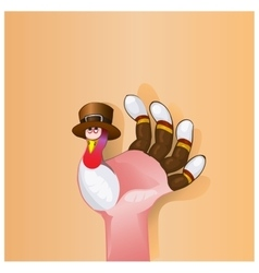 Beautiful Happy Thanksgiving Day background with vector image