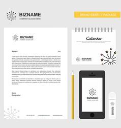 blast business letterhead calendar 2019 and vector image