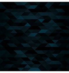 Dark triangular mosaic background vector