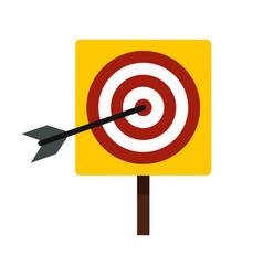 Darts icon flat style vector