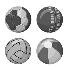 Design of sport and ball sign collection vector