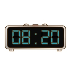 digital clock and timer icon design vector image