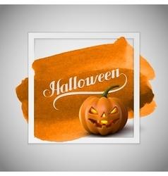 Halloween pumpkin jack lantern vector