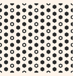 Hexagon pattern with hexagonal shapes vector