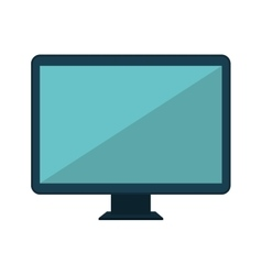 monitor desktop computer icon vector image