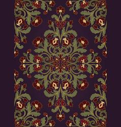 oriental floral ornament vector image