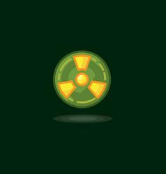 radiation symbol radiation vector image