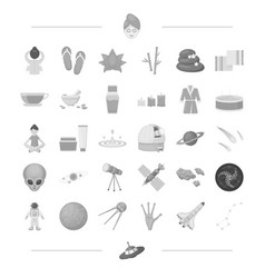space business entertainment and other web icon vector image