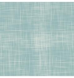 Blue linen seamless texture vector image