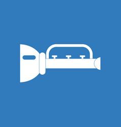 Icon children trumpet vector