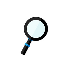 magnifying glass icon search icon design vector image