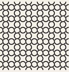 seamless pattern monochrome bold wavy stripes vector image