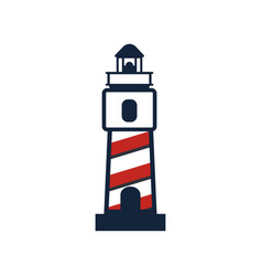 Set collection lighthouse logo vector