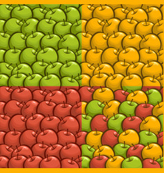 apple texture wallpaper vector image