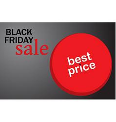 black friday hot sale vector image