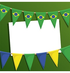 brazil decoration vector image