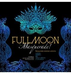 Masquerade Ball Poster vector image