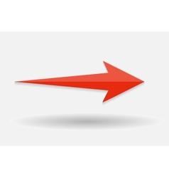 Arrow Icon Sign vector image