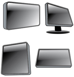 Computer screens vector