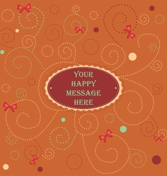 Happy Message vector