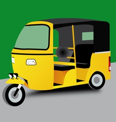 Indian tuk tuk vector