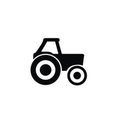 isolated farm vehicle icon agronomy vector image