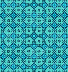 Seamless pattern of arabic ornament vector