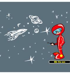 The boy of the space vector