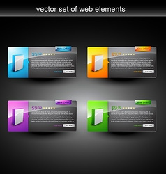web product display vector image vector image