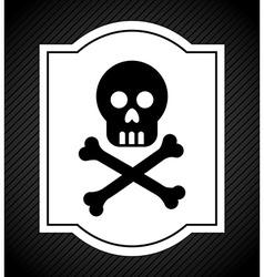 danger signal vector image