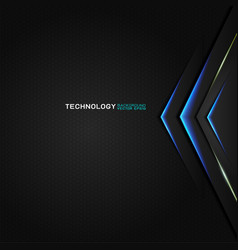 abstract futuristic and technology concept vector image