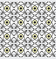 Abstract seamless arabesque patterns vector