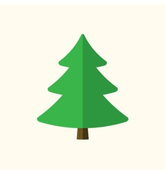 Christmas tree sign vector