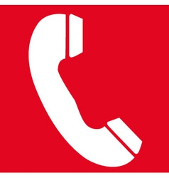 Emergency Telephone Safety Sign vector image
