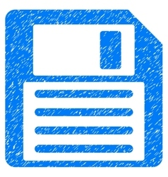 Floppy Grainy Texture Icon vector