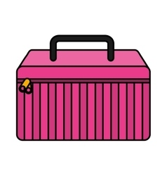 make-up kit isolated icon vector image